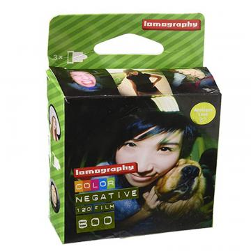 LOMOGRAPHY PELLICOLA 800/120 COLOR 3 PACK