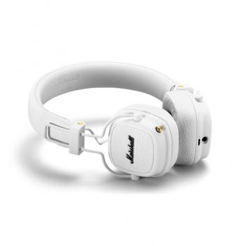 MARSHALL CUFFIA MAJOR III BLUETOOTH WHITE