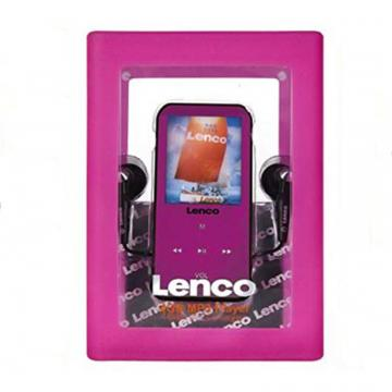 LENCO LETTORE MP3 XEMIO-665 4GB PINK