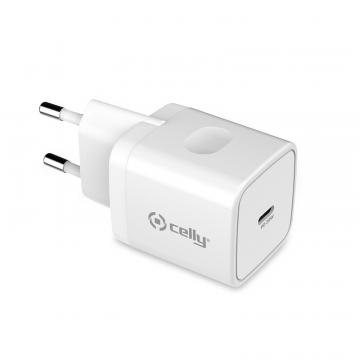 CELLY CAR.BATT.TC1 USB-C 20W WHITE