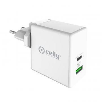 CELLY CAR.BATT.USB-C 30W WHITE