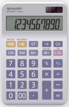SHARP CALC EL 334