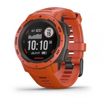GARMIN SMARTWATCH INSTINCT FLAME RED