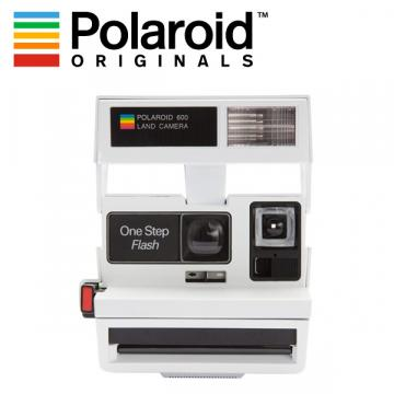 POLAROID 600 80S STYLE SMILEY WHITE