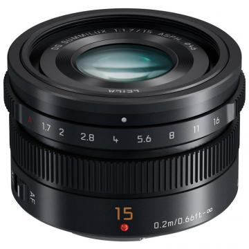 PANASONIC LEICA OBIET 15MM F1.7 ASPH.BLACK