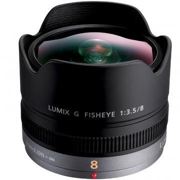 Panasonic Lumix 8 mm F 3,5 Fish-Eye