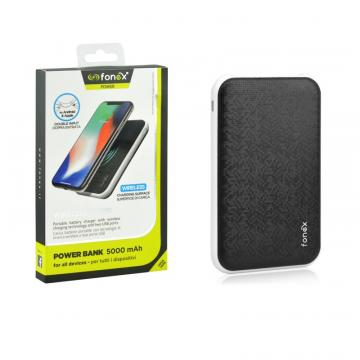 FONEX POWER BANK W.LESS TETRIS 5000MAH