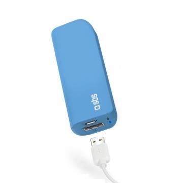 SBS POWER BANK 3000MAH 1A BLU
