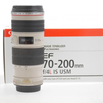 CANON 70-200mm F/4 L IS USM -USATO