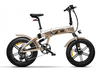 ICONE E-BIKE ICROSS-X7 TITANIUM
